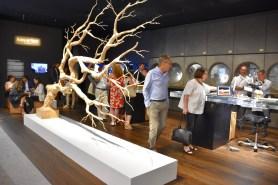 The Audemars Piguet VIP lounge, entitled Second Nature, is designed by Sebastian Errazuriz