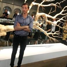 Sebastian Errazuriz and his design for the Audemars Piguet VIP lounge at Art Basel 2017