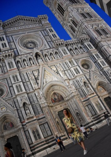 Piazza del Duomo (Cathedral Square) & its attractions - the Santa Maria del Fiore Cathedral, the Giotto's bell tower, the Baptistry of San Giovanni and the Dome