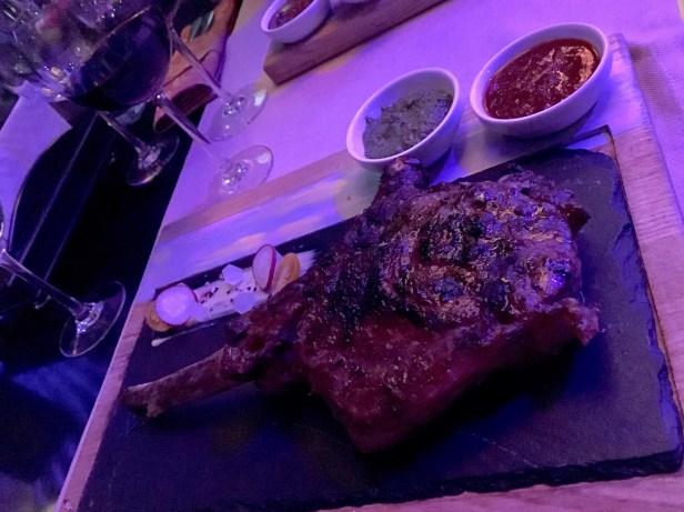 Dinner at Panorama Lounge