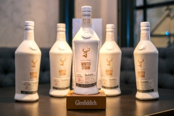 At the presentation of Glenfiddich Winter Storm at the Widder Bar & Kitchen of the luxurious 5-star Widder Hotel Zurich