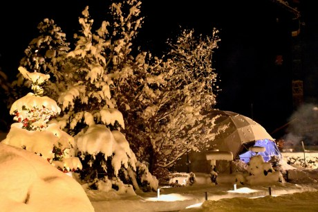 Park Gstaad's Winter Dome