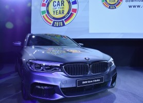 The finalist of Car of the Year, BMW 5er Series