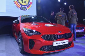 The finalist of Car of the Year, Kia Stinger