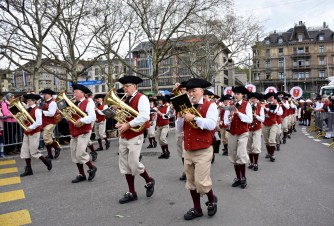 The Guild's Parade, Zurich spring festival