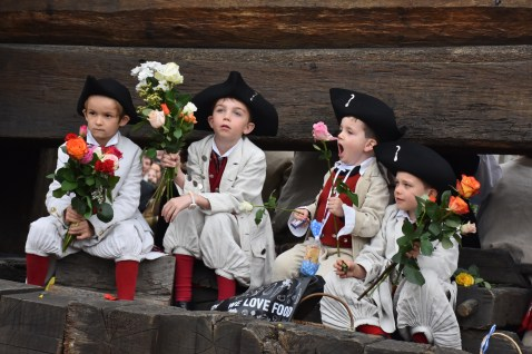 The spring festival in Zurich, the Guild's Parade