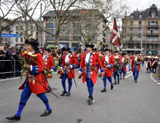 Parade during Zurich Spring Festival