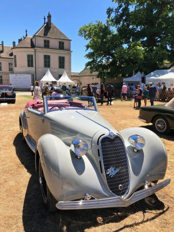 "Concours d'Elégance Suisse, The winner of ""the best of the show"" - ALFA ROMEO 6C 2300 BMM, 1939"