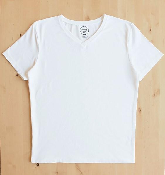 White t-shirt from the Swiss brand NOT BASIC