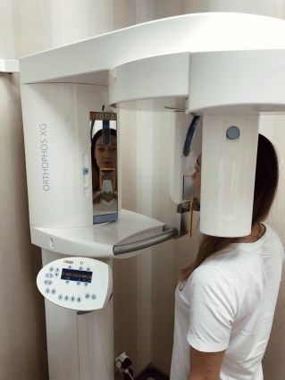 ORTHOPHOS XG3 SIRONA for the safe high quality panoramic X-ray