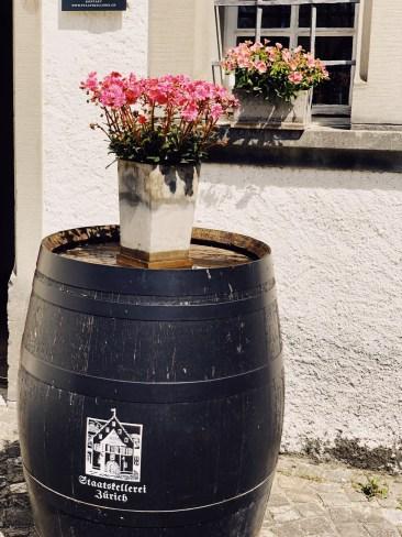 wine oak barrel