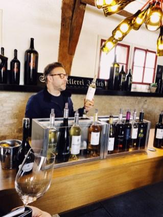 Staatskellerei Zurich wine tasting room