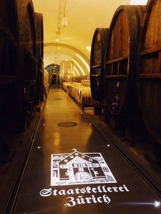 Staatskellerei Zurich wine cellar