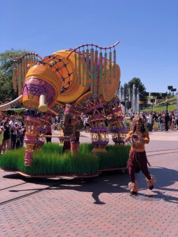 Disneyland Paris, the Lion King and Jungle Festival