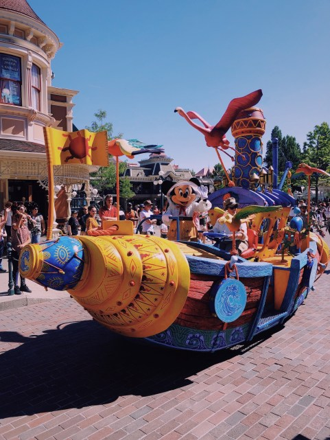 Disneyland Paris, the Lion King and Jungle Festival