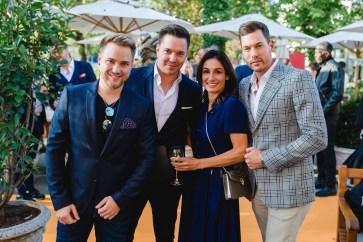 Michael Graber, Sven Epiney, Nicole Süess, Reto Hanselmann at Veuve Clicquot Business Woman Award 2019