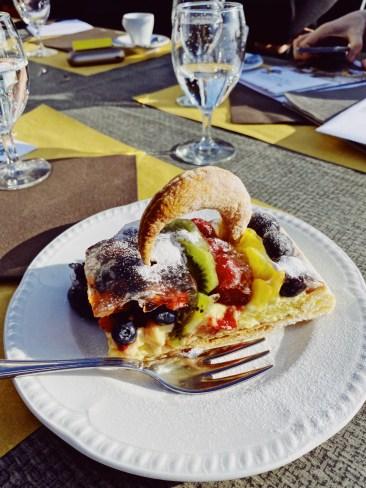Culinary creations at the Restaurant Vetta