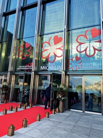 The Michelin Star Revelation ceremony in Lugano, Switzerland