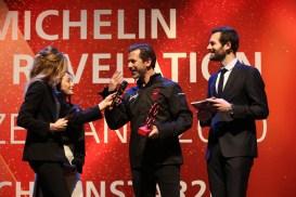 Andreas Caminada receives the MICHELIN Mentor Award sponsored by Sprüngli