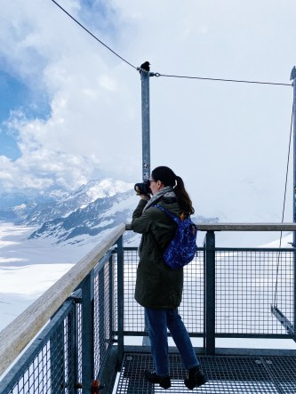 Jungfraujoch - Top of Europe, Sphinx Terrace