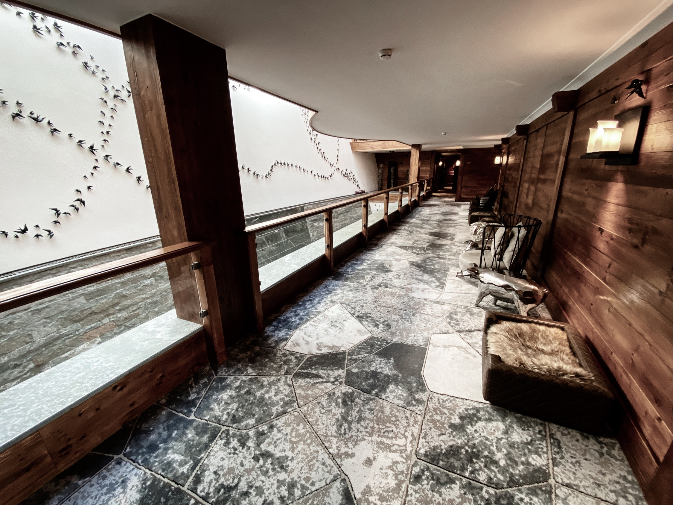 Interior Riffelalp Resort 2222m