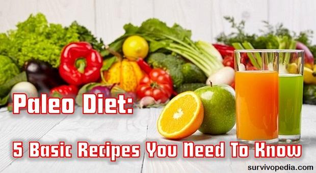 Survivopedia 5 paleo diet recipes
