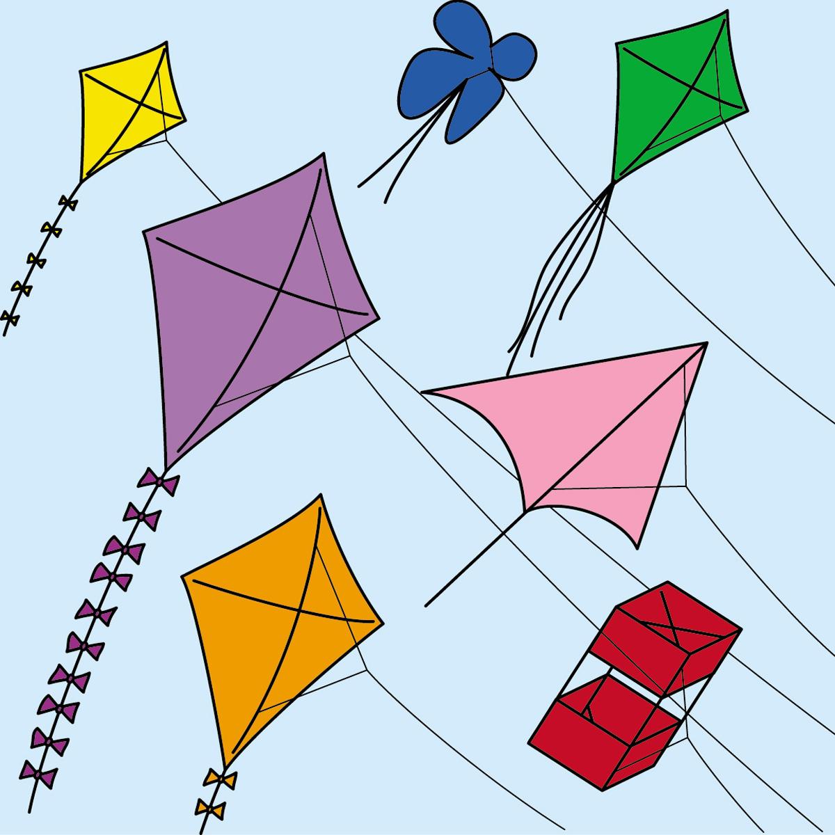 Gc5nern Kite Flying On International Gc Day Event