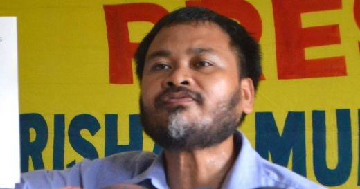 Peasant leader Akhil Gogoi arrested on sedition charges in Assam's Golaghat
