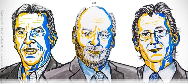 Jean-Pierre Sauvage, Sir J. Fraser Stoddart ve Bernard L. Feringa'ya ile ilgili görsel sonucu