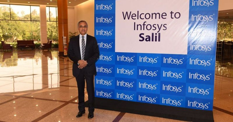 Infosys shares tank over 14% after company discloses whistleblower complaints against top officials