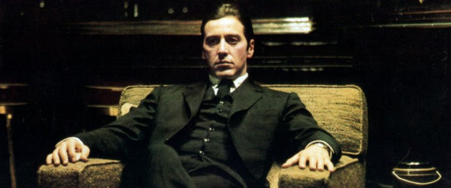 Al Pacino in The Godfather.