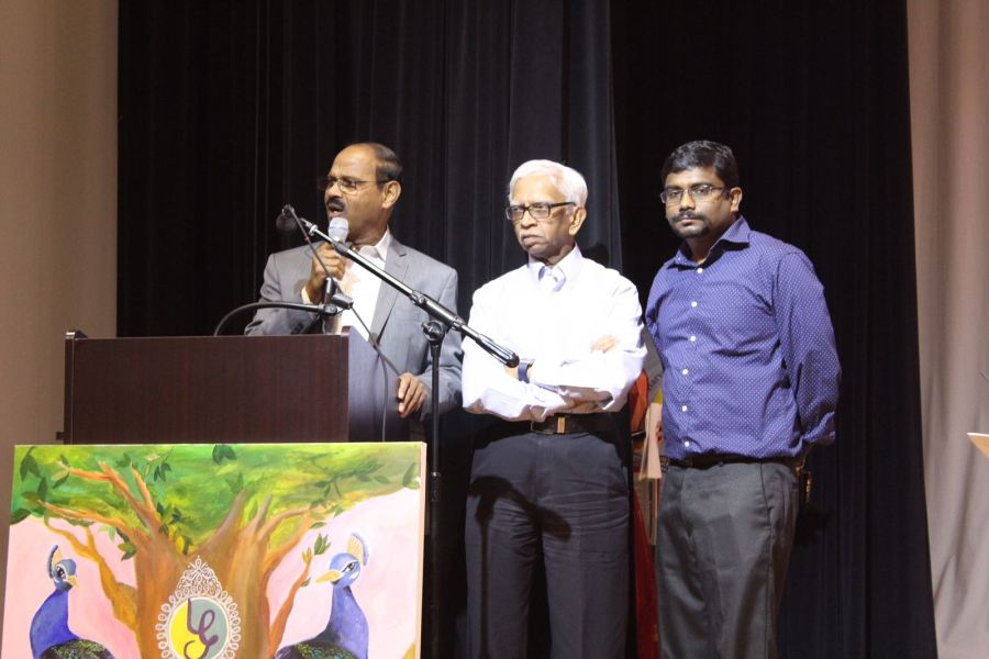 Harvard Tamil Chair  Two India born US doctors are on a  6 million quest From left  Vijay Janakiraman  Sundaresan Sambandam and Vetriselvan are the  driving forces behind the
