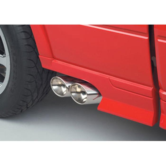 exhaust exhaust dual side exit off road
