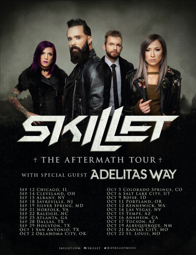 Skillet 2021 Tour