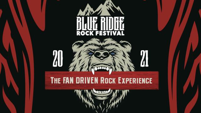 Blue Ridge Rock Festival 2021 Header