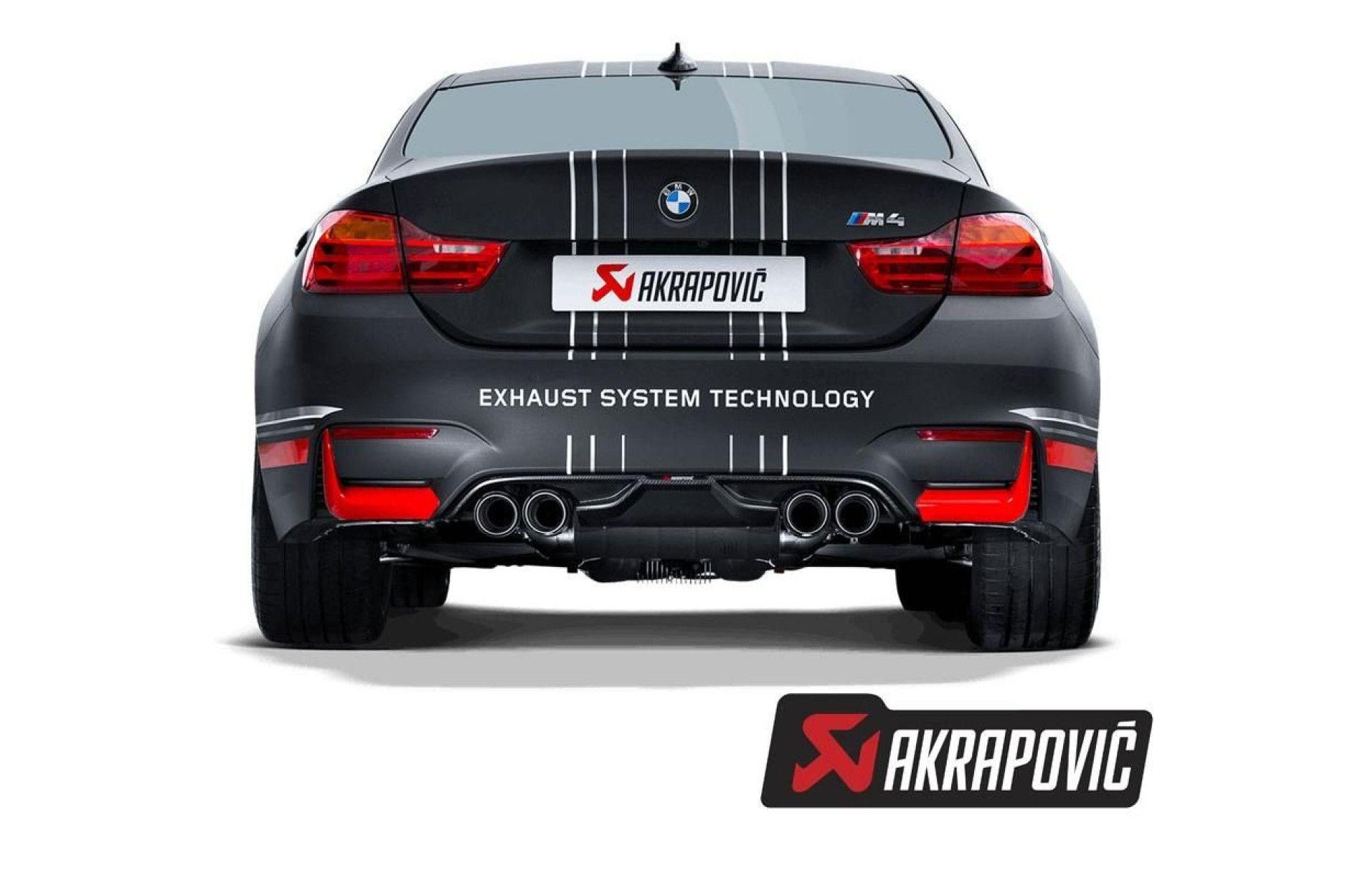 akrapovic rear carbon fiber diffusor fur m3 f80