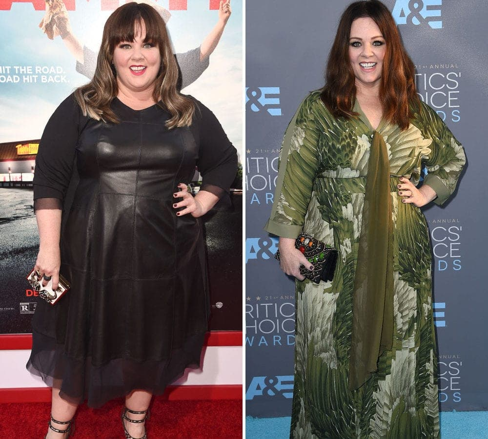 Incredible Celebrity Weight-Loss Transformations ...