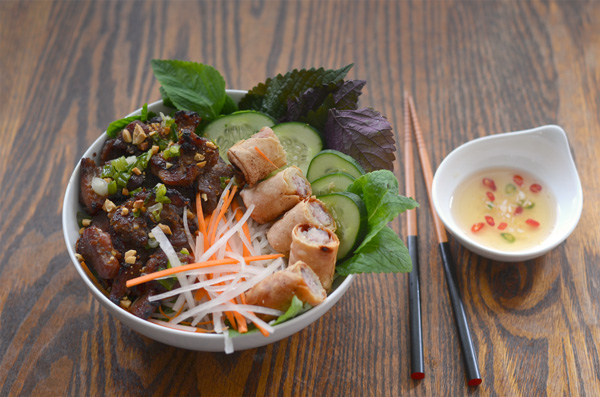 Image result for bun thit nuong