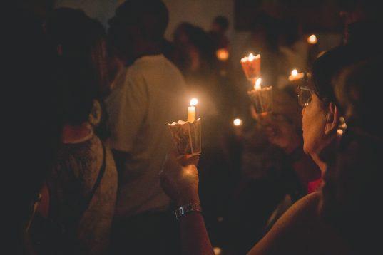 Candlelit celebration, traditional of Mexico
