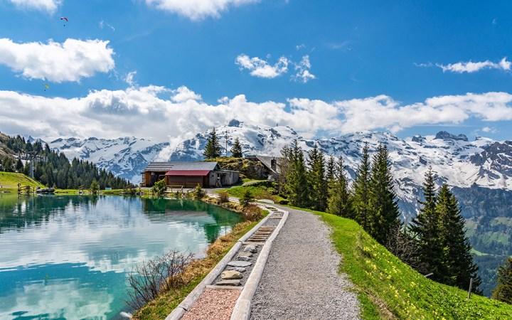 A view of Switzerland