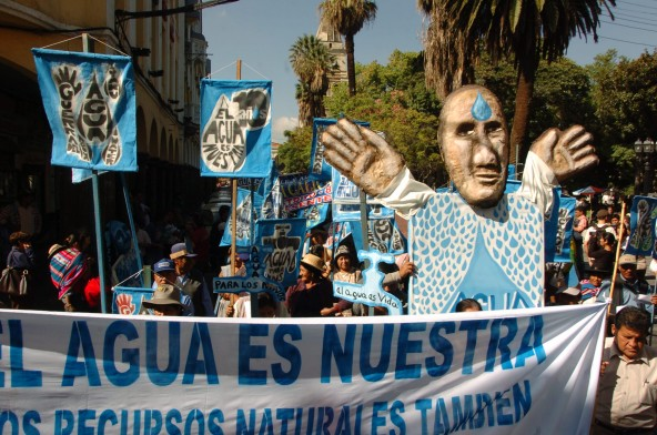 Cochabamba Climate Change Conference Gives Voice to World's Social Movements and Indigenous Peoples.