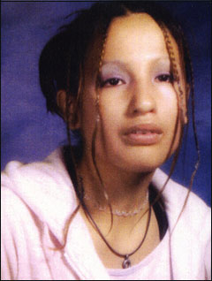 Image of Felicia Velvet Soloman, who was found dead at the age of 16 in 2003.