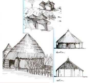 illustrations of vedic villages