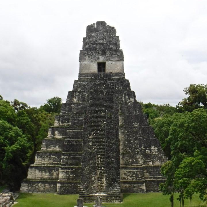 Photo of Tikal Temple 1.