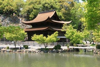 The Eiho-Ji temple.