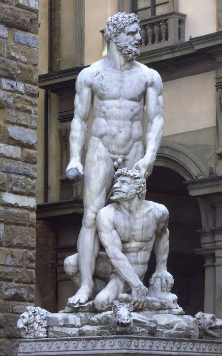 Renaissance sculptures. Taxes are not a new idea