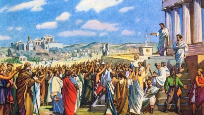 Athens, debate, Assembly