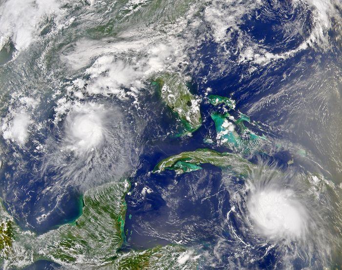 Path of Hurricane Charley