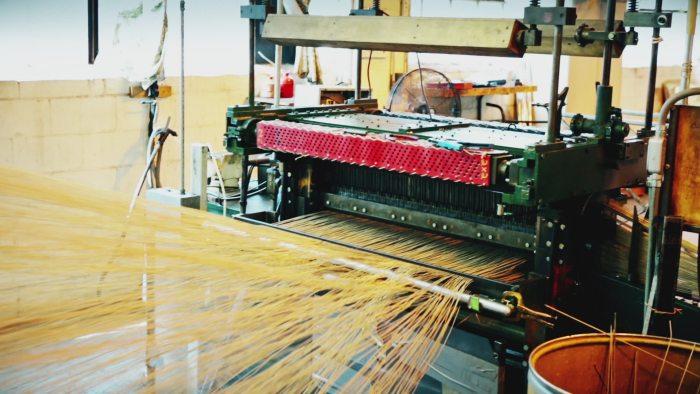 lloyd loom weaving wicker