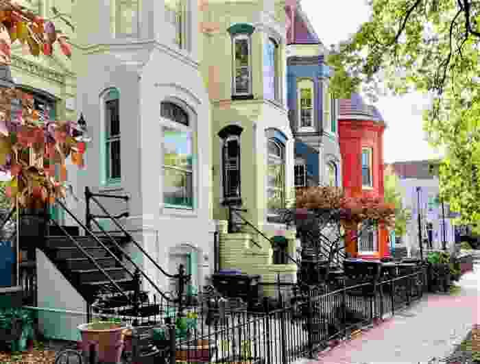 Townhomes in Washington DC